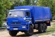 Бортовой КамАЗ 43118-6013-50