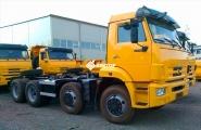 Шасси КамАЗ 6540-3911-48(A5)