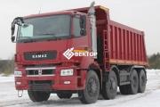 Самосвал КамАЗ 65801-001-68(T5)