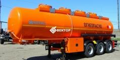 Полуприцеп цистерна НЕФАЗ для перевозки нефти 96897-0202120-02